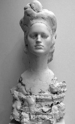 la foule, plaster, 86x45x45 cm, 2014