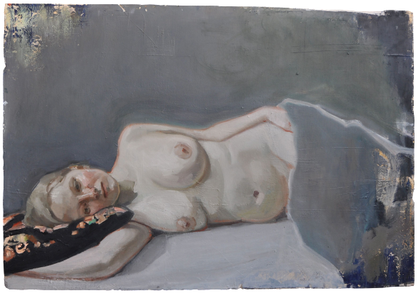 Hanna (Gone with the Wind), oil on plaster, 76×95 cm, 2009
