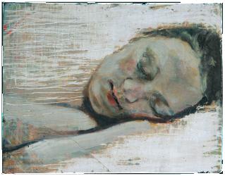 Open Rooms, oil on plaster, 25×31 cm, 2007