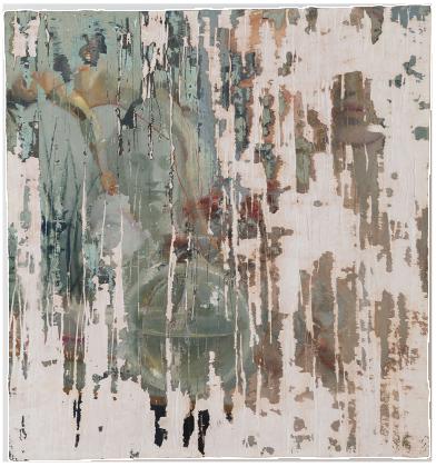 new life, oil on plaster, 77×78 cm, 2014