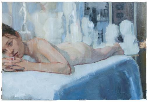 Harriet, oil on plaster, 85×59 cm, 2011