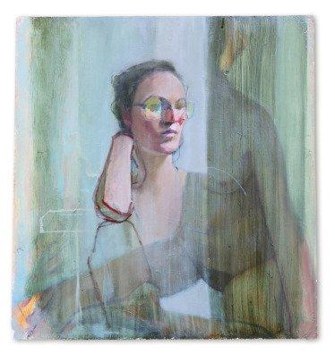 i must be you, huile sur plâtre, 72x80 cm, 2015