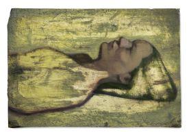late sun lays bare, huile sur plâtre, 16x24 cm, 2015
