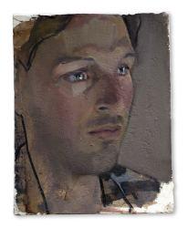 Jack, huile sur plâtre, 20x25 cm, 2015